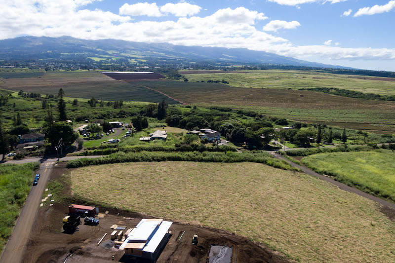 Haleakala Views over a lot listed for sale in Baldwin Ranch Estates